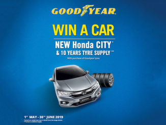 Goodyear Malaysia Hari Raya Campaign lets you win a Honda City