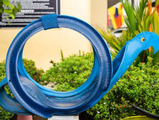 Goodyear donates old tyres for art to secondary school in Shah Alam
