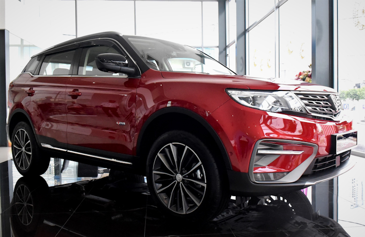 Proton Launches X70 Merdeka Edition at RM126,100