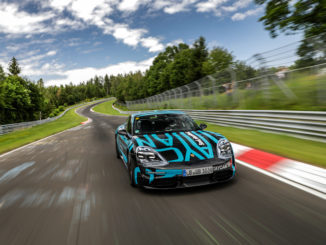 Porsche Taycan prototype sets new Nurburgring lap record