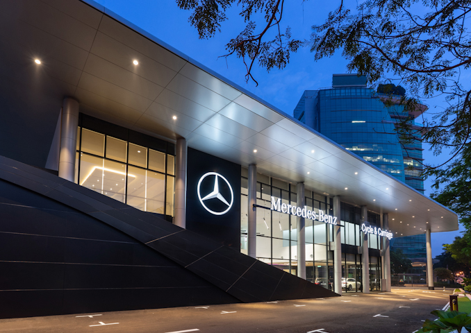 Mercedes-Benz Malaysia ups brand presence at Cycle & Carriage Bintang