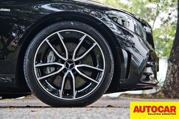 Mercedes-AMG C 43 AMG wheel