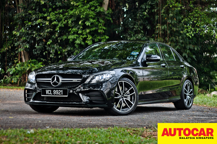 Mercedes-AMG C 43 exterior front left quarter