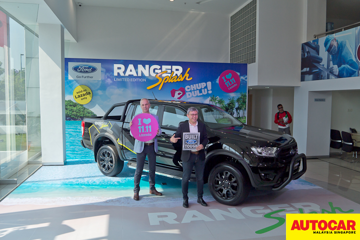 Ford launches Limited Edition Ford Ranger Splash in Malaysia at RM138,888
