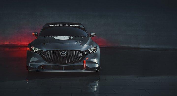 Mazda3 goes racing in America in racy TCR version