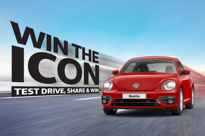 "Win a brand-new Beetle in VPCM ""Win the Icon"" Instagram contest"