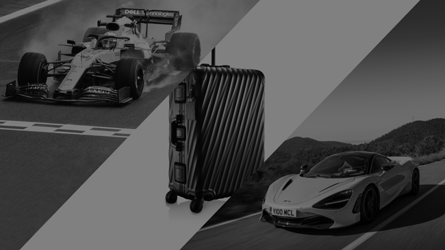 Tumi becomes official luggage partner of McLaren Automotive