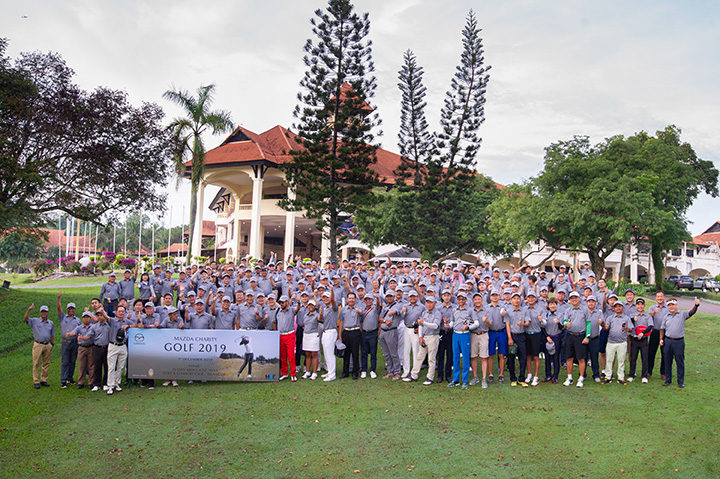 The 7th Mazda Charity Golf Tournament raised RM477k for charity