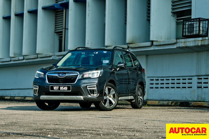 Big in space, solid in build - 2019 Subaru Forester Review
