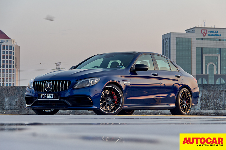 Mercedes-AMG C 63 S is a GT3 race car with four doors - Review