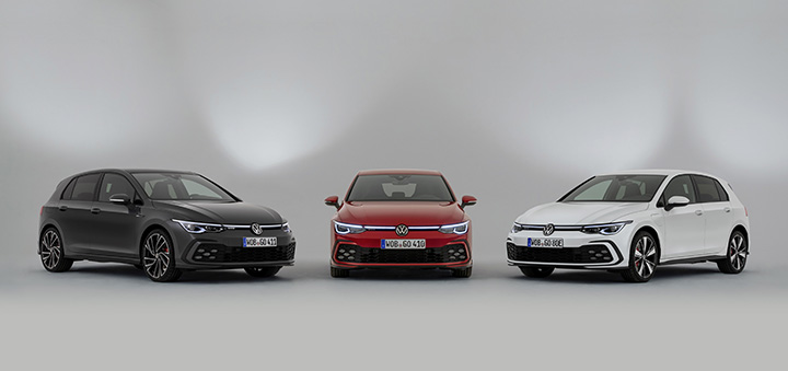 Gen-eight Volkswagen GTI, GTE and GTD makes global debut
