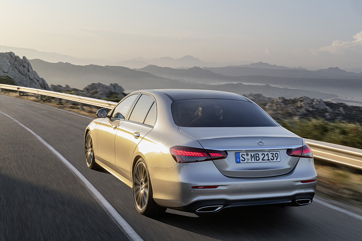 Mercedes-Benz midlife refresh E-Class received extensive updates