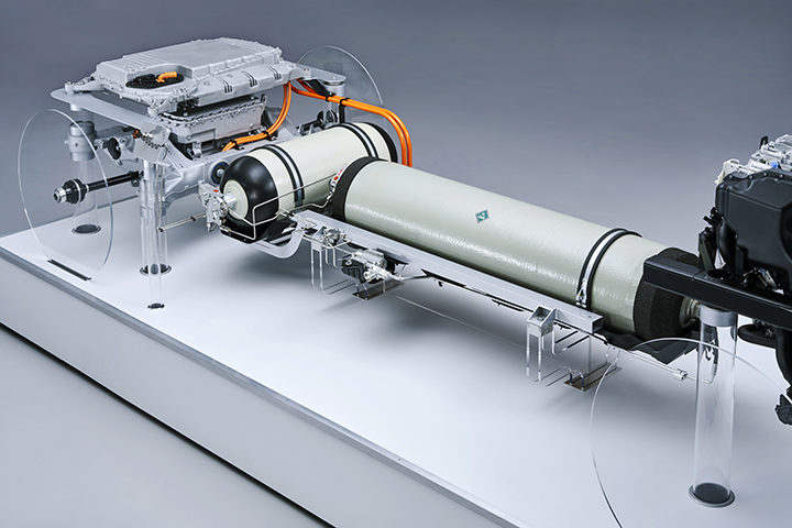 BMW Group views hydrogen fuel cell viable for use in future models