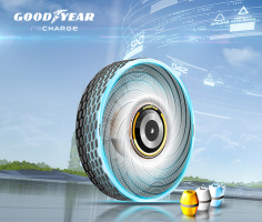 Goodyear explores renewable materials with reCharge concept tyre