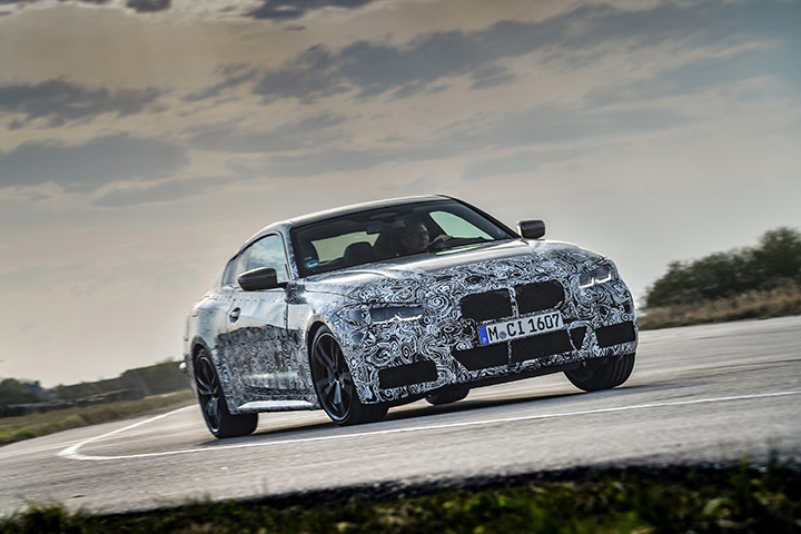 BMW 4 Series Coupe gets closer to series production
