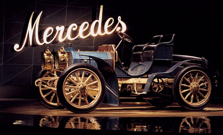 Mercedes-Benz celebrates the 120 year anniversary of its brand name